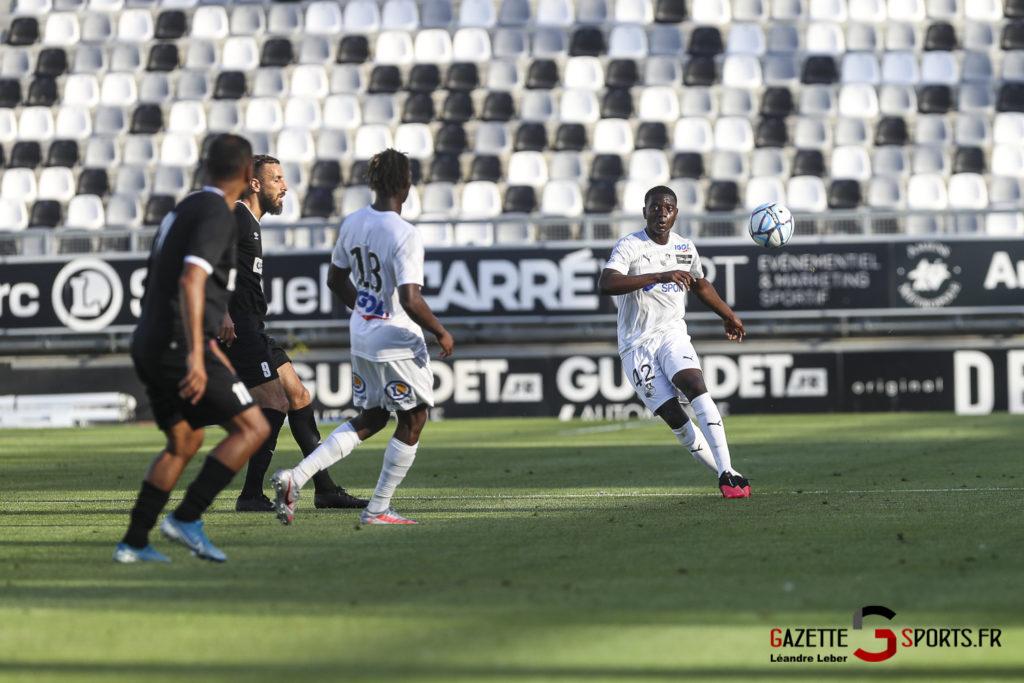 Football Amical Amiens Sc Vs Chambly 0033 Leandre Leber Gazettesports