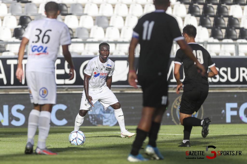 Football Amical Amiens Sc Vs Chambly 0035 Leandre Leber Gazettesports