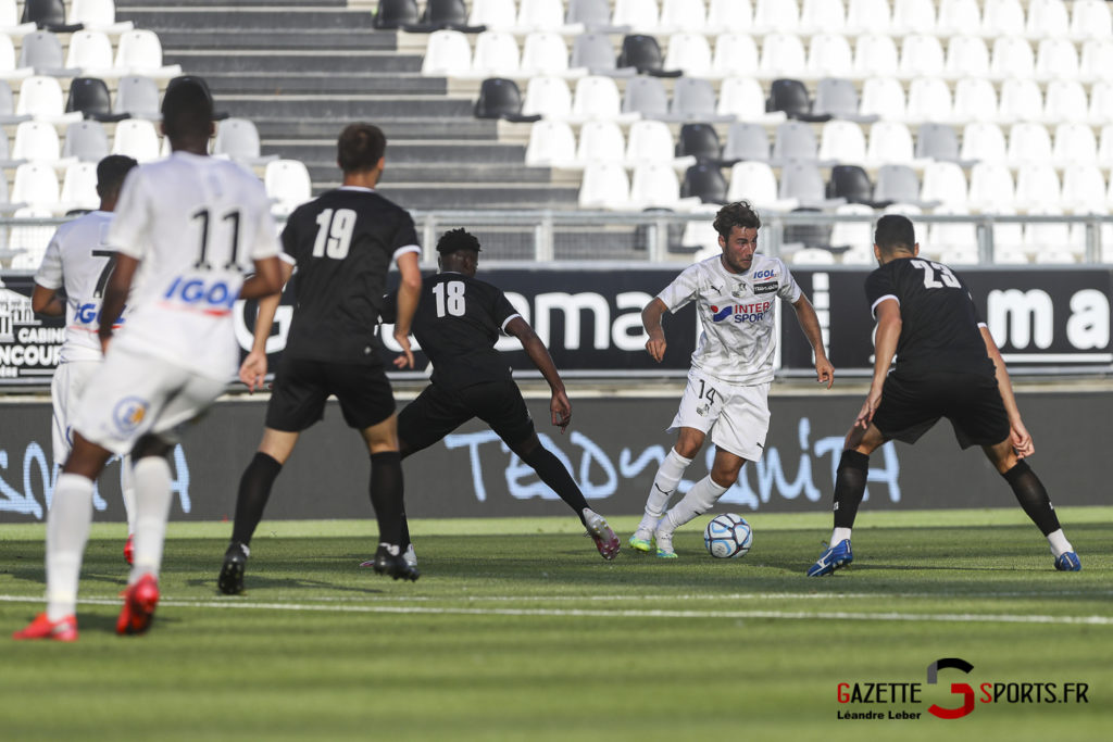 Football Amical Amiens Sc Vs Chambly 0040 Leandre Leber Gazettesports