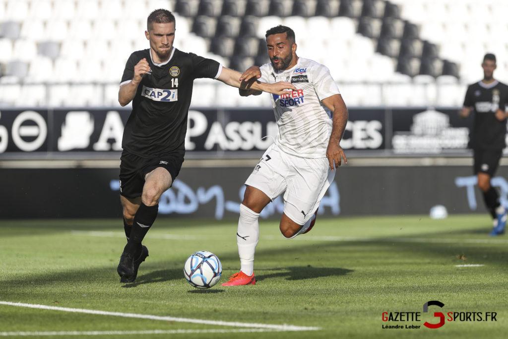 Football Amical Amiens Sc Vs Chambly 0044 Leandre Leber Gazettesports