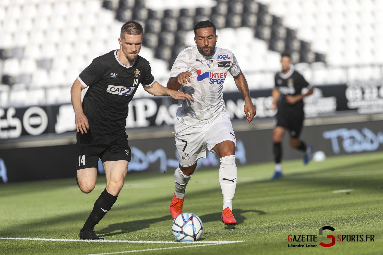 Football Amical Amiens Sc Vs Chambly 0045 Leandre Leber Gazettesports