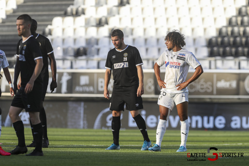 Football Amical Amiens Sc Vs Chambly 0054 Leandre Leber Gazettesports