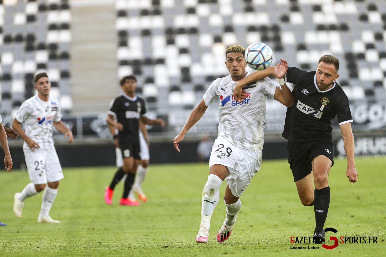 Football Amical Amiens Sc Vs Chambly 0063 Leandre Leber Gazettesports