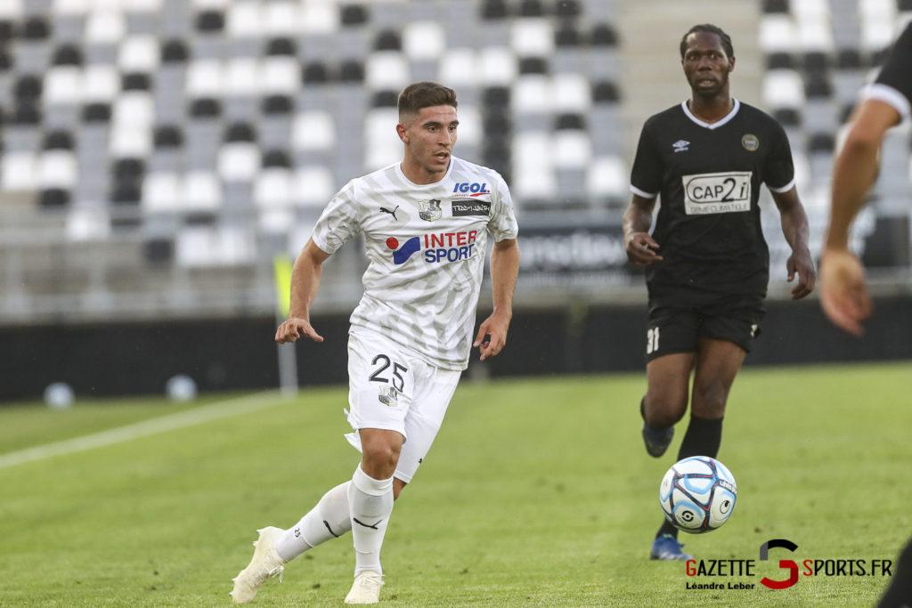 Football Amical Amiens Sc Vs Chambly 0064 Leandre Leber Gazettesports