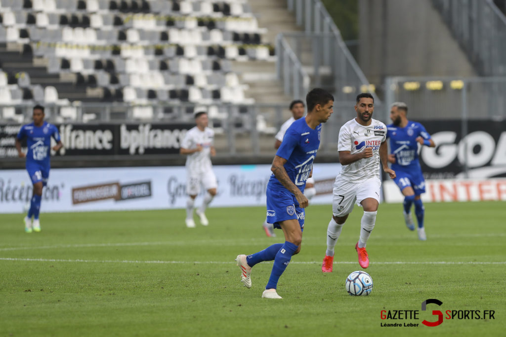 Football Ligue 2 Amiens Sc Vs Troyes Amical 0007 Leandre Leber Gazettesports