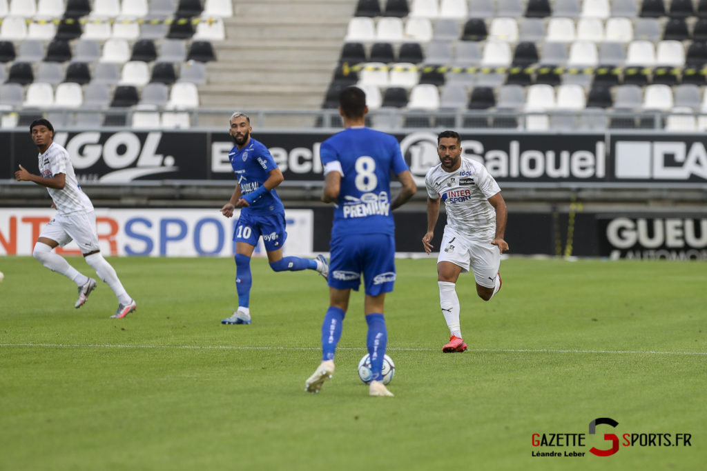 Football Ligue 2 Amiens Sc Vs Troyes Amical 0008 Leandre Leber Gazettesports
