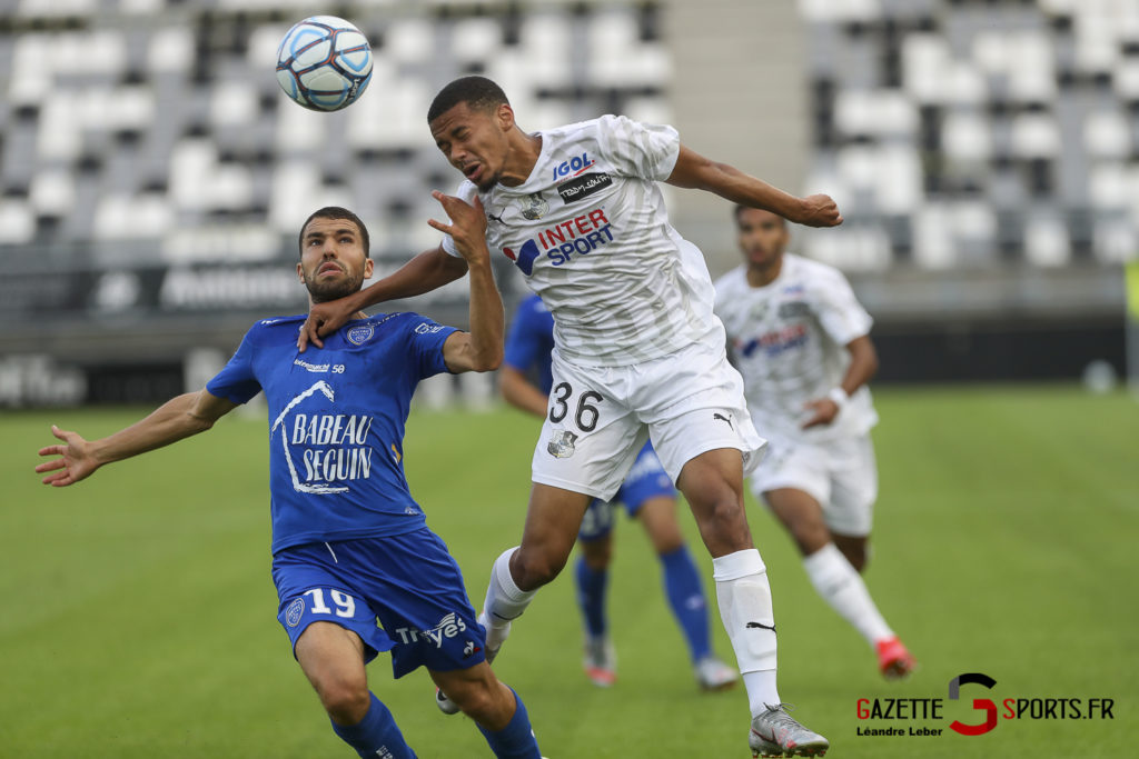 Football Ligue 2 Amiens Sc Vs Troyes Amical 0014 Leandre Leber Gazettesports