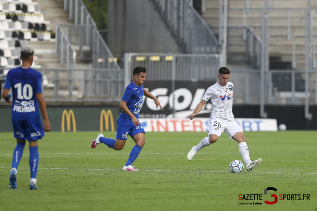 Football Ligue 2 Amiens Sc Vs Troyes Amical 0021 Leandre Leber Gazettesports