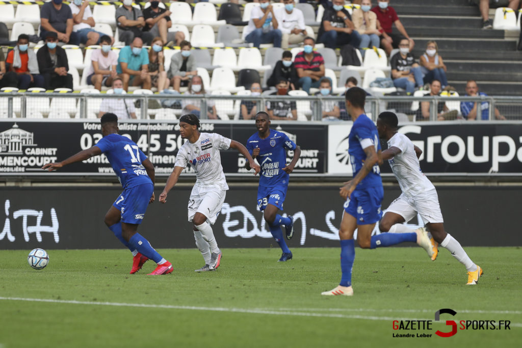 Football Ligue 2 Amiens Sc Vs Troyes Amical 0025 Leandre Leber Gazettesports