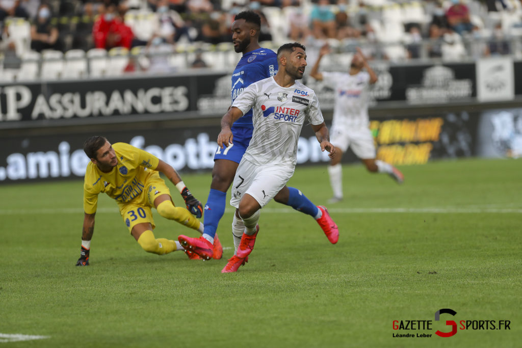 Football Ligue 2 Amiens Sc Vs Troyes Amical 0033 Leandre Leber Gazettesports
