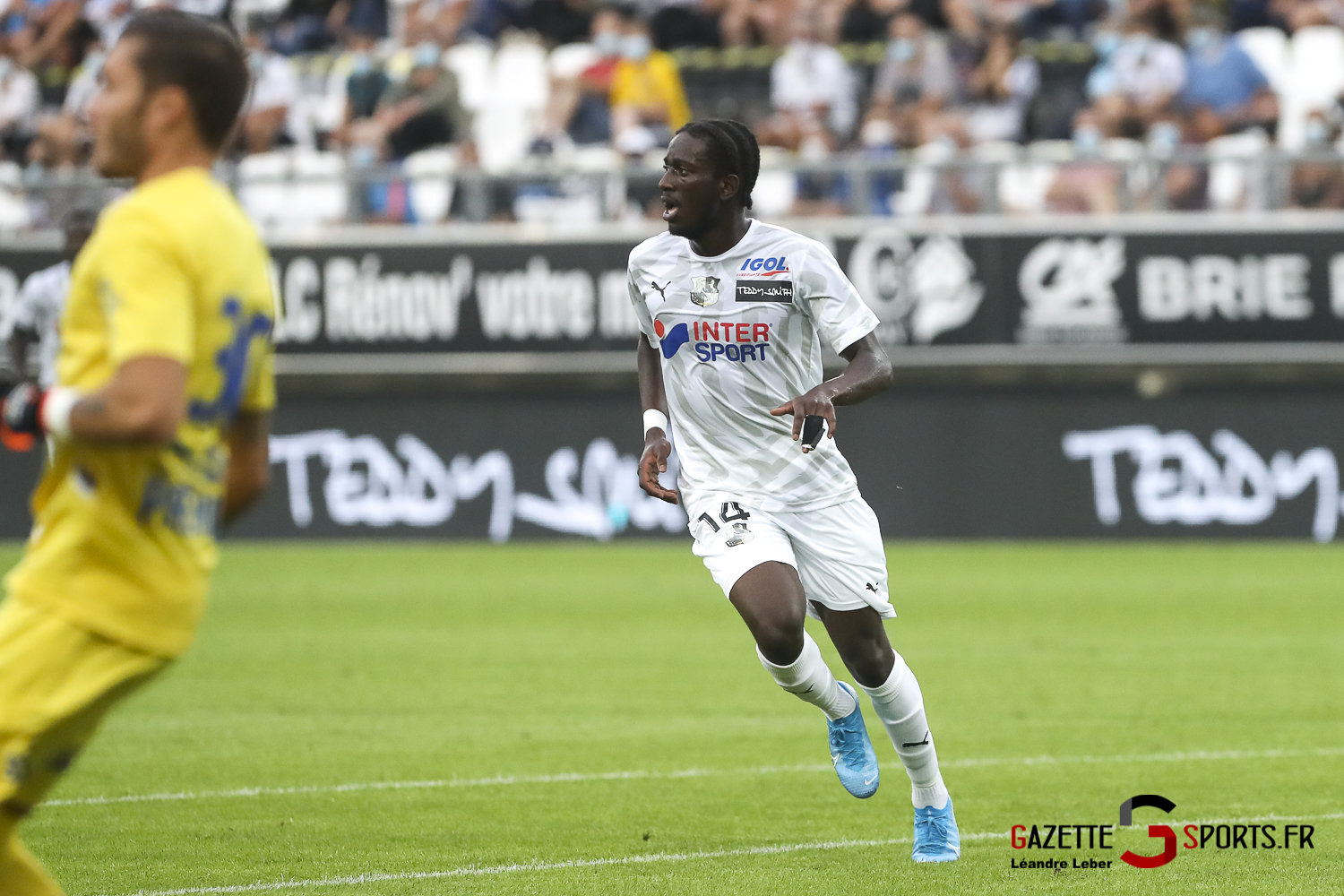 Football Ligue 2 Amiens Sc Vs Troyes Amical 0043 Leandre Leber Gazettesports