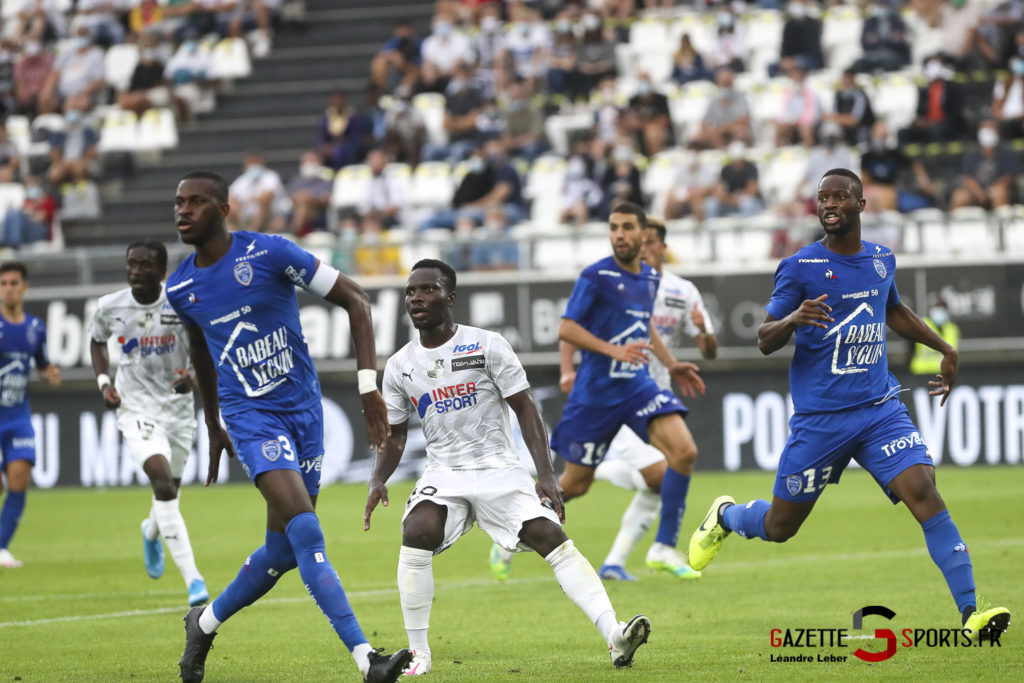 Football Ligue 2 Amiens Sc Vs Troyes Amical 0050 Leandre Leber Gazettesports