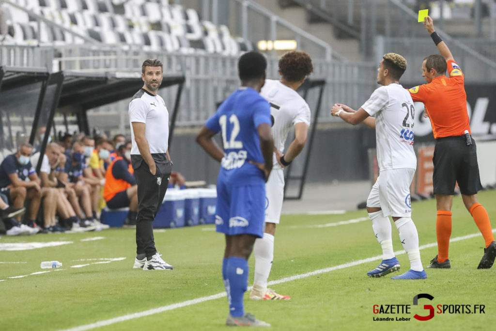 Football Ligue 2 Amiens Sc Vs Troyes Amical 0052 Leandre Leber Gazettesports
