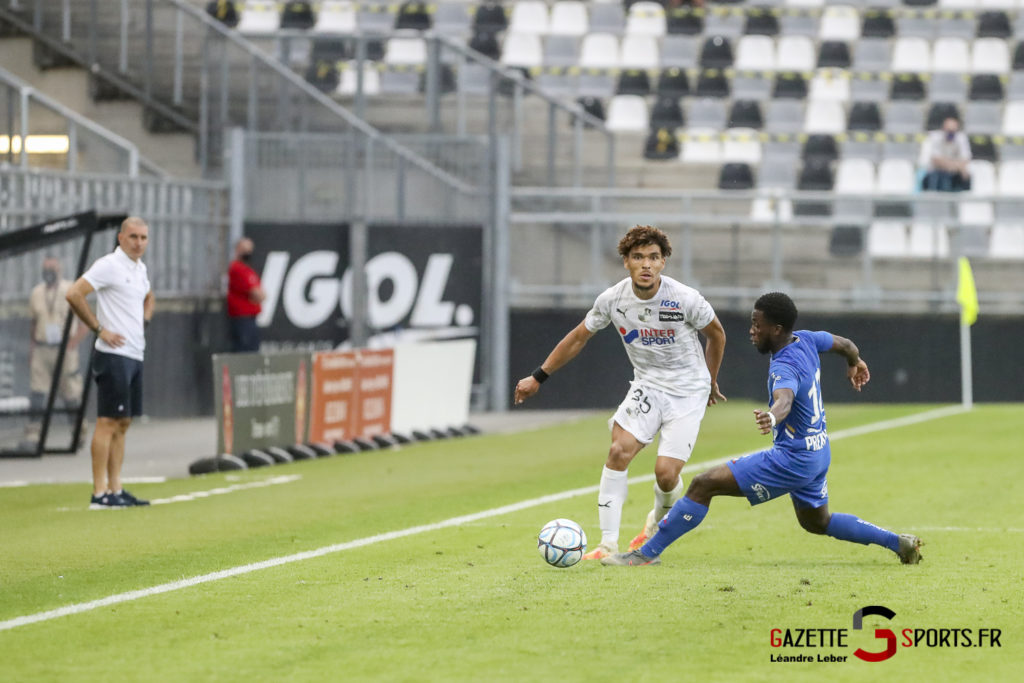 Football Ligue 2 Amiens Sc Vs Troyes Amical 0054 Leandre Leber Gazettesports