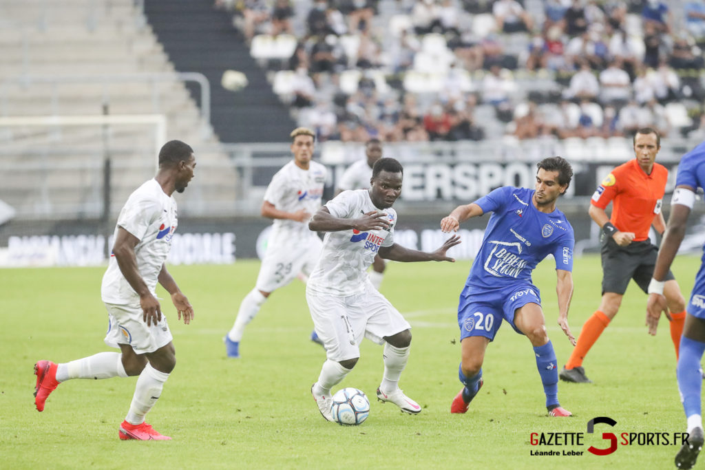 Football Ligue 2 Amiens Sc Vs Troyes Amical 0055 Leandre Leber Gazettesports