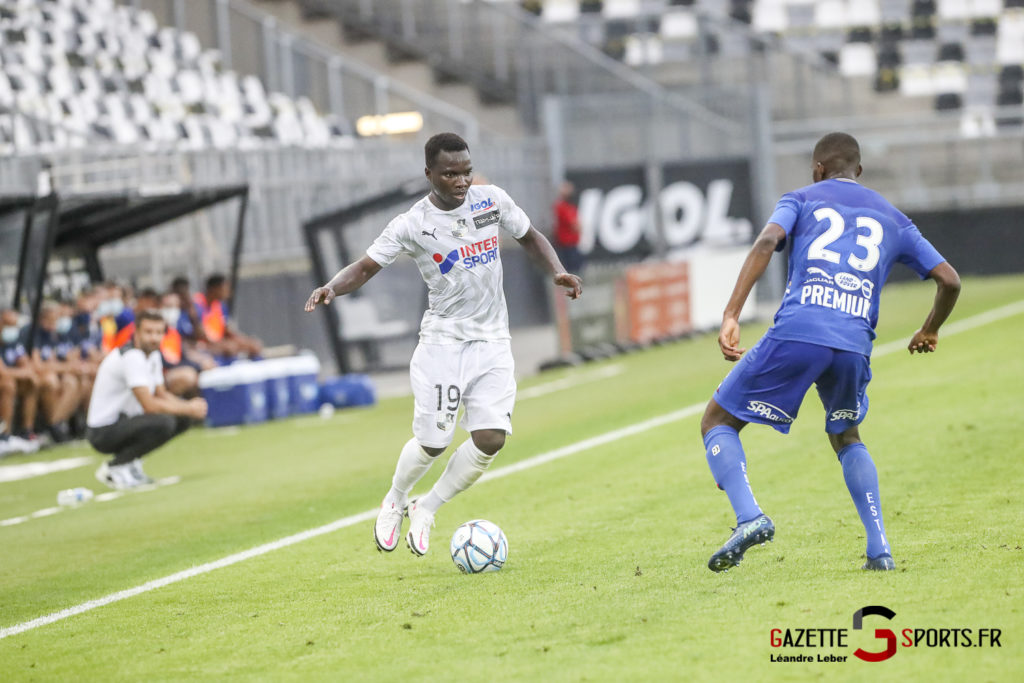 Football Ligue 2 Amiens Sc Vs Troyes Amical 0057 Leandre Leber Gazettesports