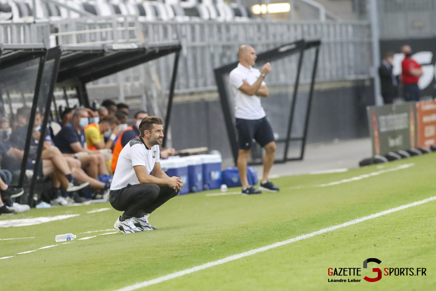Football Ligue 2 Amiens Sc Vs Troyes Amical 0058 Leandre Leber Gazettesports