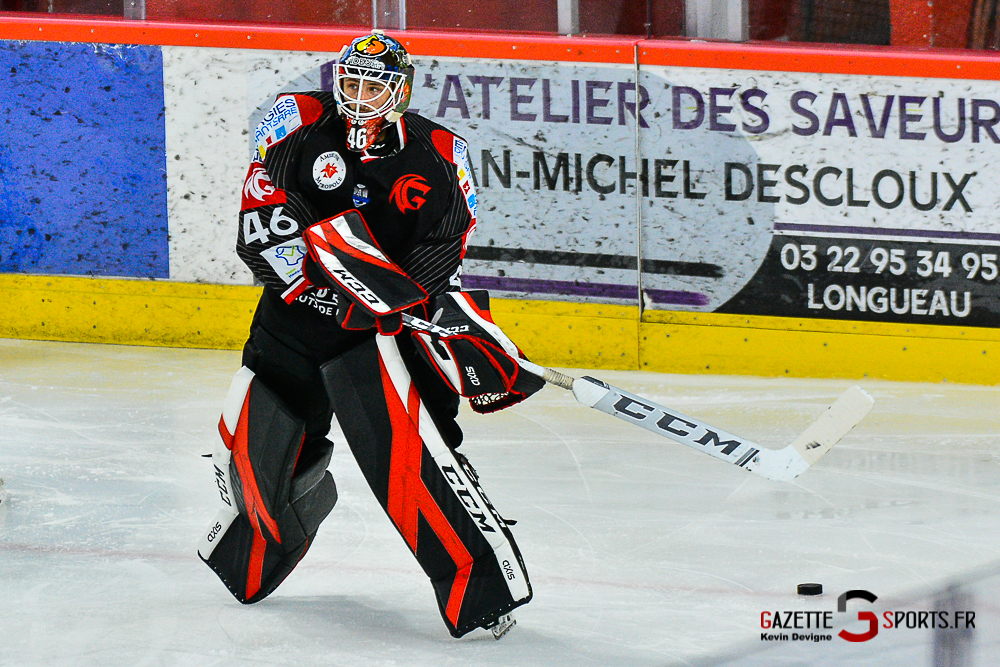 Hockey Sur Glace Amiens Vs Cergy Kevin Devigne Gazettesports 11