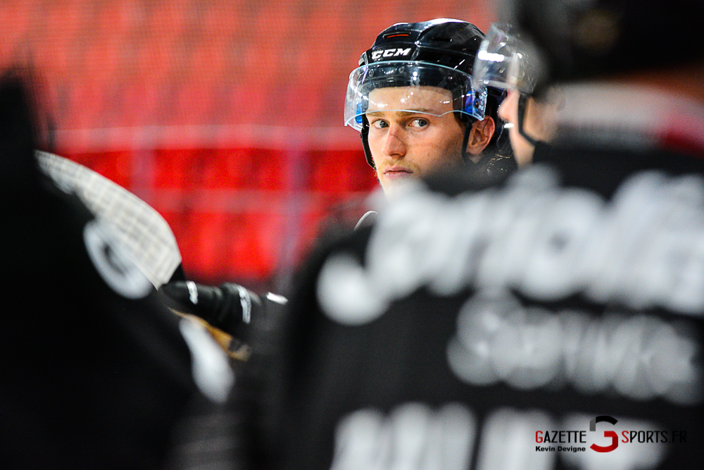 Hockey Sur Glace Amiens Vs Cergy Kevin Devigne Gazettesports 119