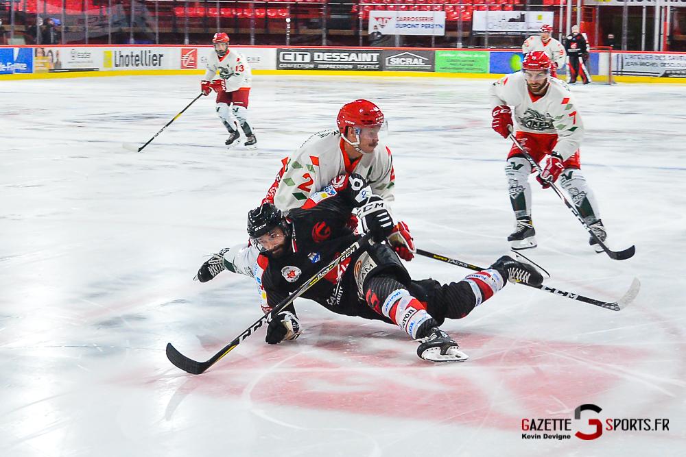 Hockey Sur Glace Amiens Vs Cergy Kevin Devigne Gazettesports 123