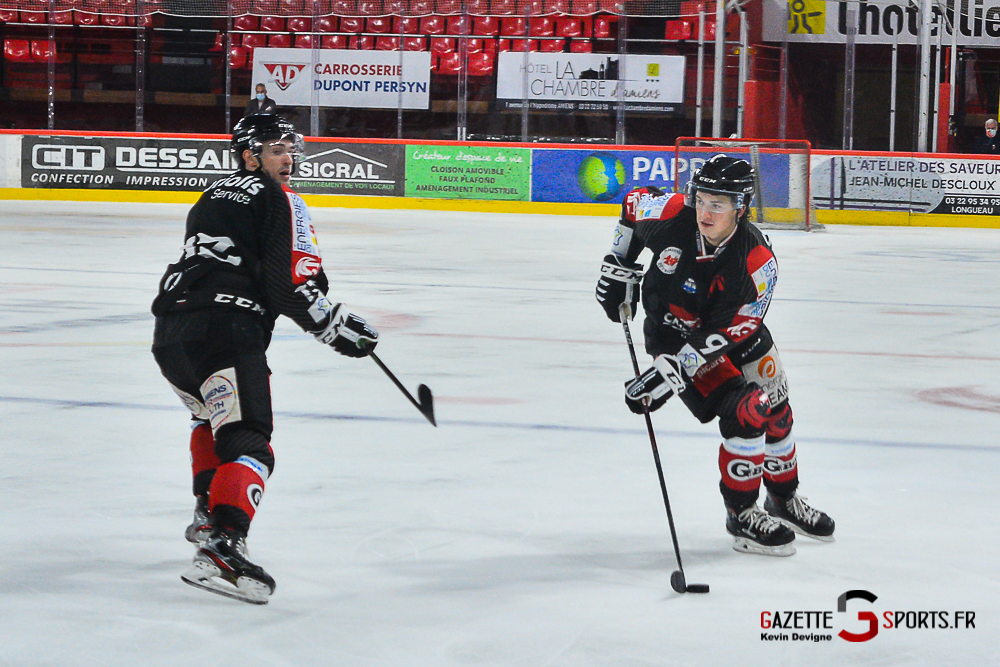 Hockey Sur Glace Amiens Vs Cergy Kevin Devigne Gazettesports 128