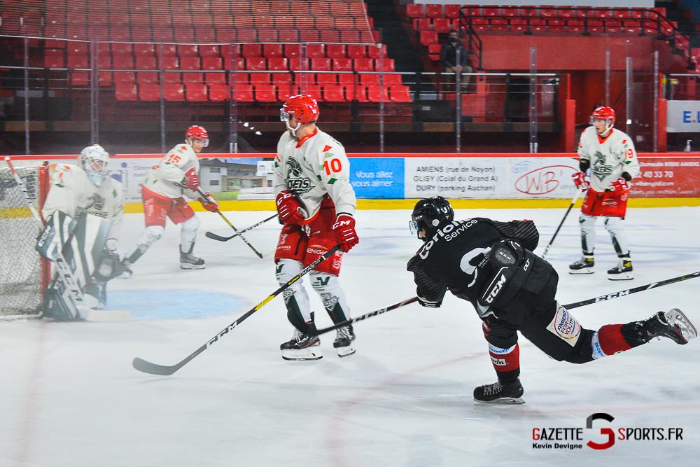 Hockey Sur Glace Amiens Vs Cergy Kevin Devigne Gazettesports 129