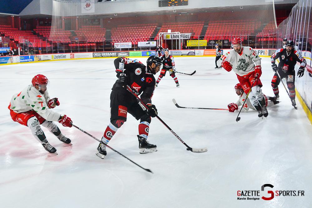Hockey Sur Glace Amiens Vs Cergy Kevin Devigne Gazettesports 131