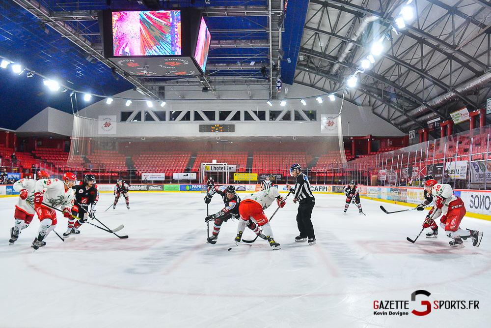 Hockey Sur Glace Amiens Vs Cergy Kevin Devigne Gazettesports 135