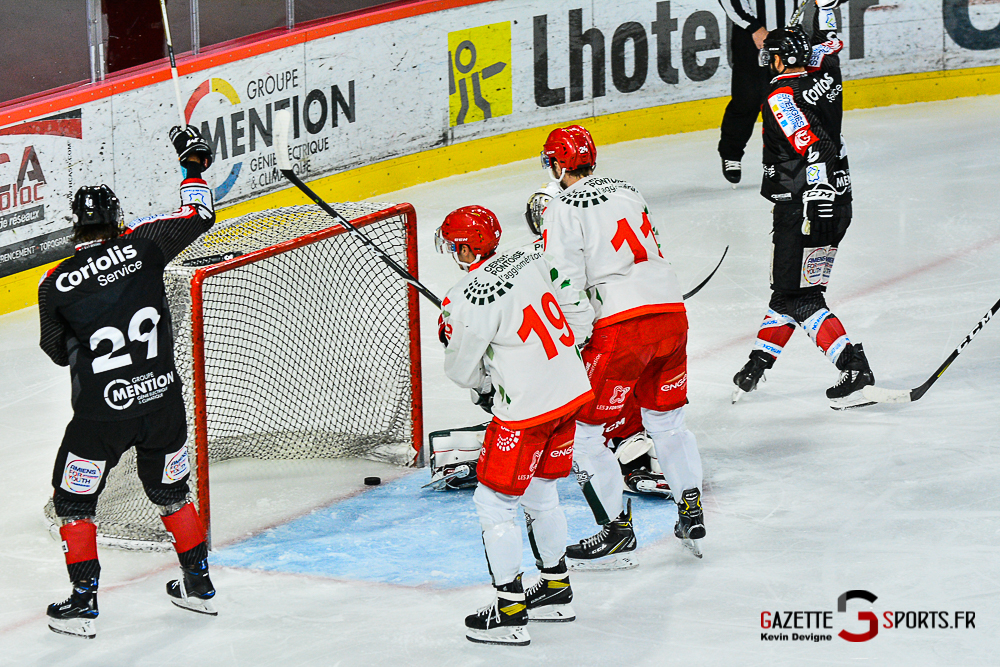 Hockey Sur Glace Amiens Vs Cergy Kevin Devigne Gazettesports 16