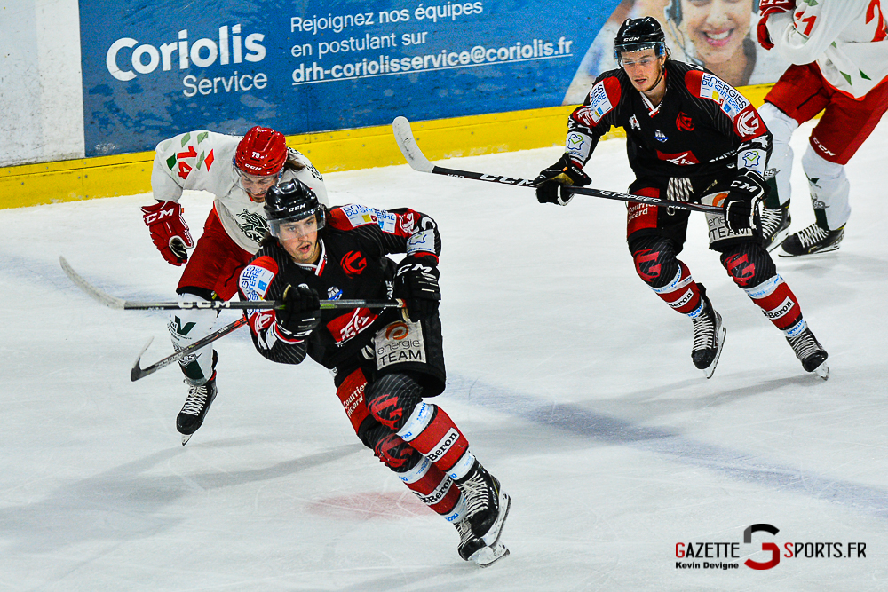 Hockey Sur Glace Amiens Vs Cergy Kevin Devigne Gazettesports 24