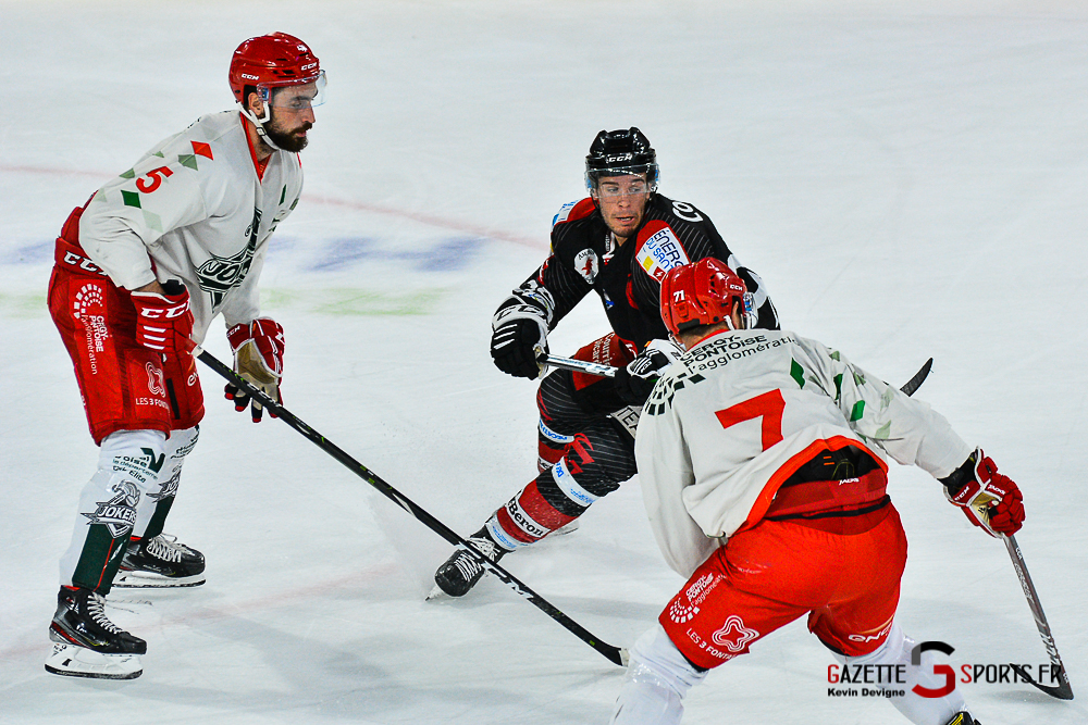 Hockey Sur Glace Amiens Vs Cergy Kevin Devigne Gazettesports 42
