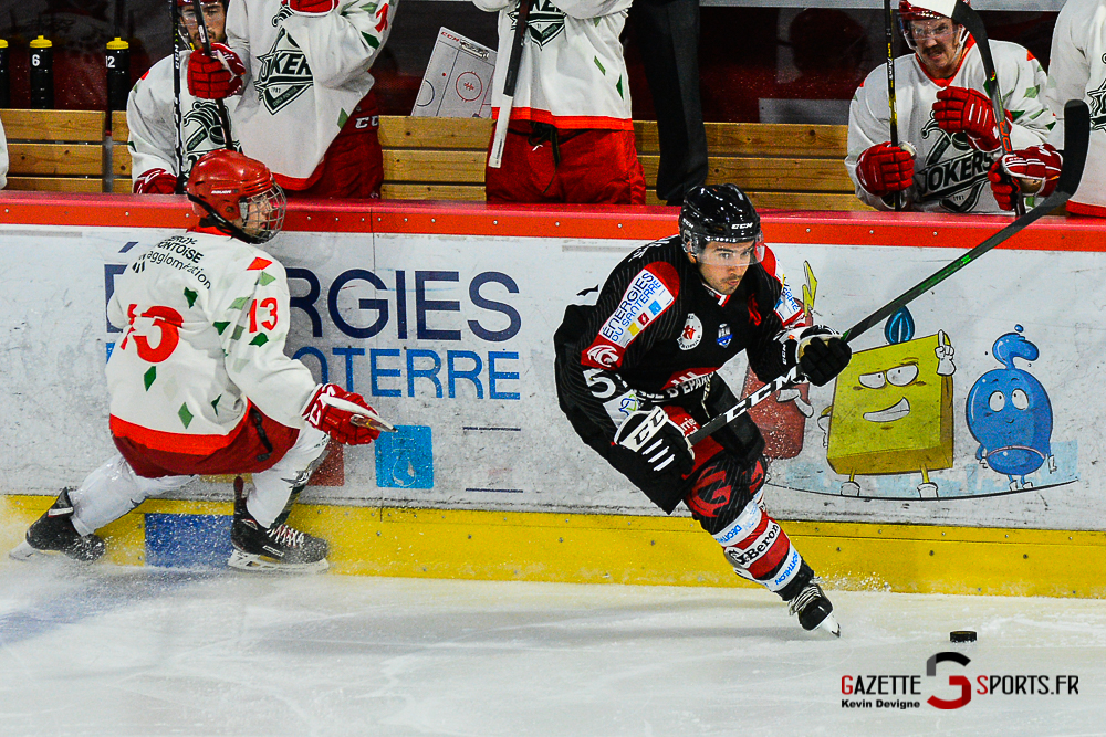 Hockey Sur Glace Amiens Vs Cergy Kevin Devigne Gazettesports 50