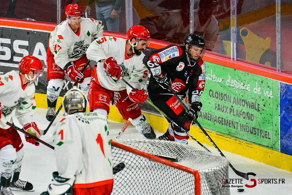Hockey Sur Glace Amiens Vs Cergy Kevin Devigne Gazettesports 60