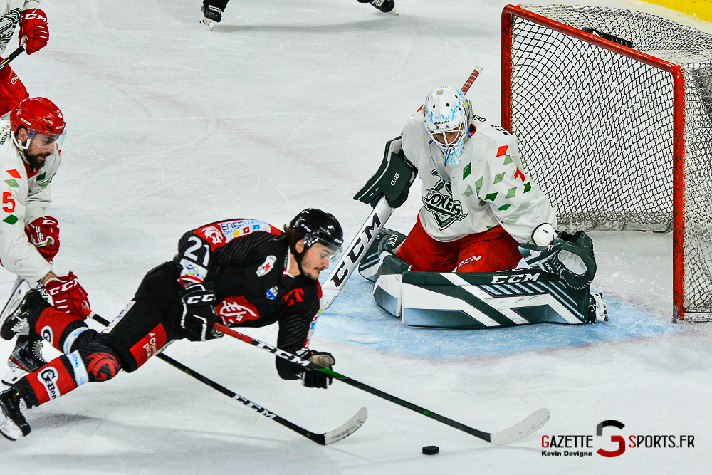Hockey Sur Glace Amiens Vs Cergy Kevin Devigne Gazettesports 66