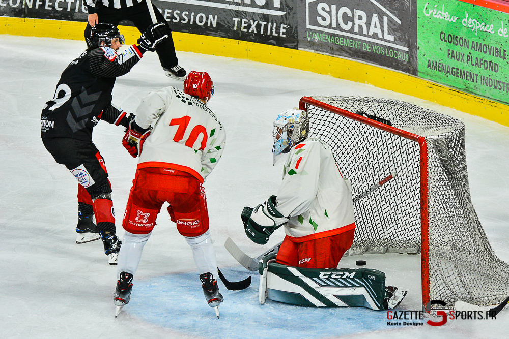 Hockey Sur Glace Amiens Vs Cergy Kevin Devigne Gazettesports 70