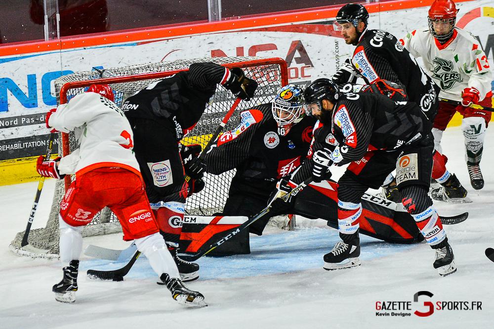 Hockey Sur Glace Amiens Vs Cergy Kevin Devigne Gazettesports 75