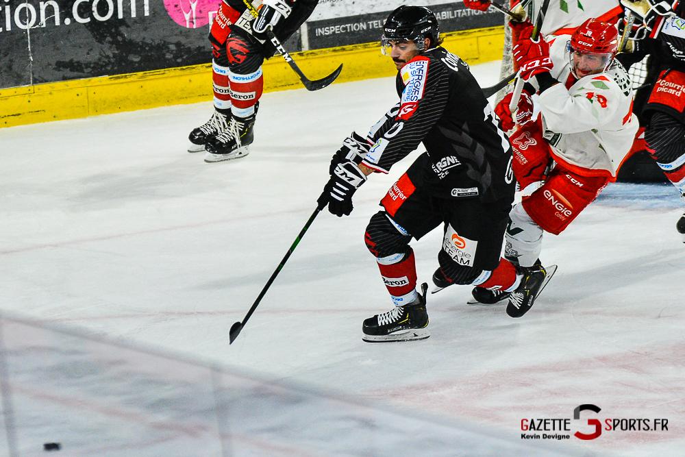 Hockey Sur Glace Amiens Vs Cergy Kevin Devigne Gazettesports 76