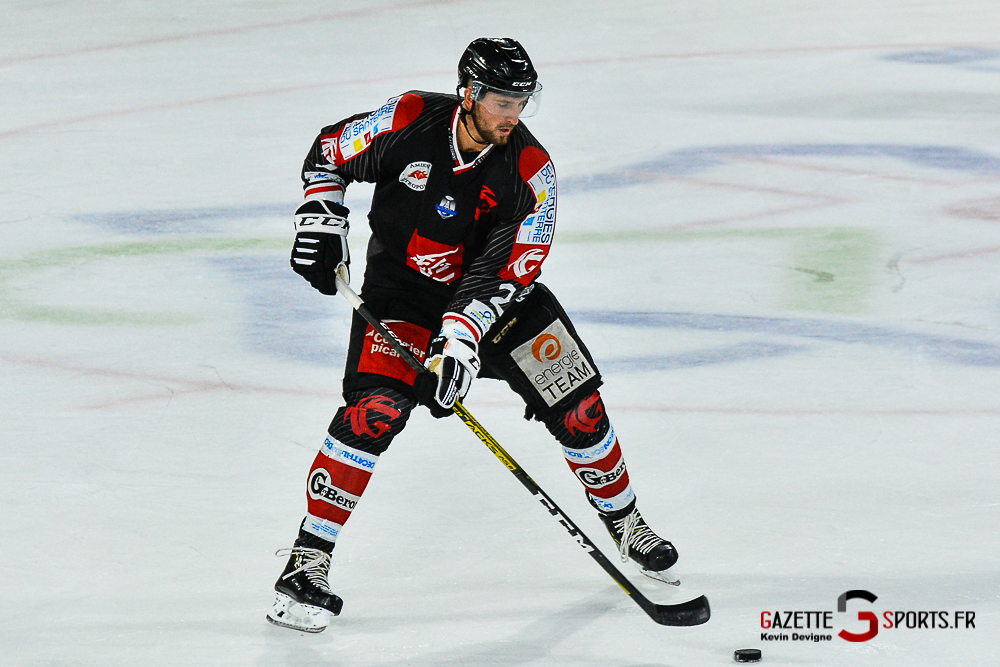 Hockey Sur Glace Amiens Vs Cergy Kevin Devigne Gazettesports 78