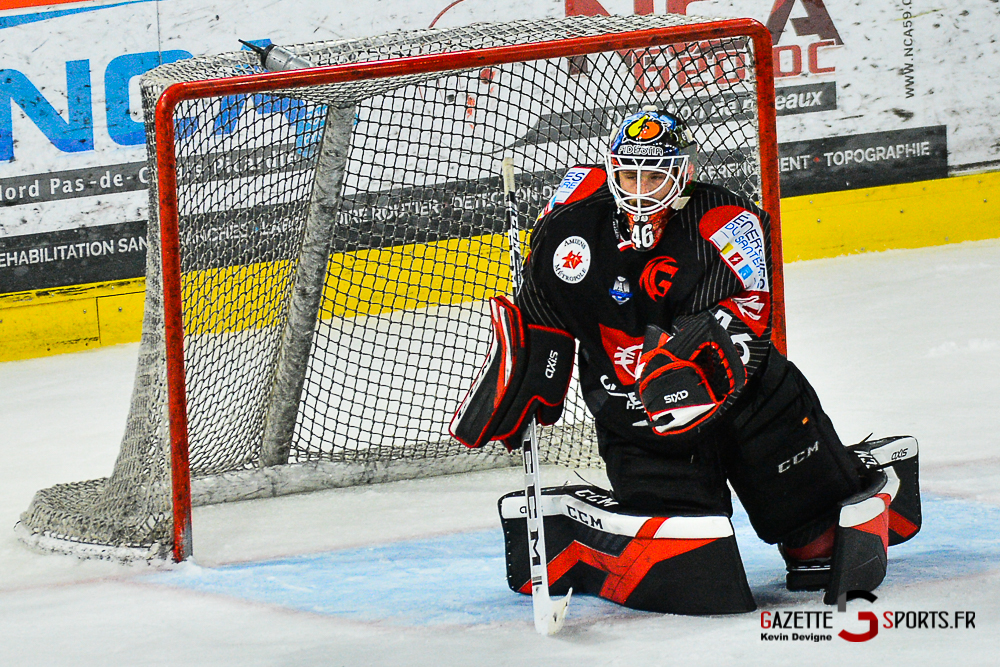 Hockey Sur Glace Amiens Vs Cergy Kevin Devigne Gazettesports 80