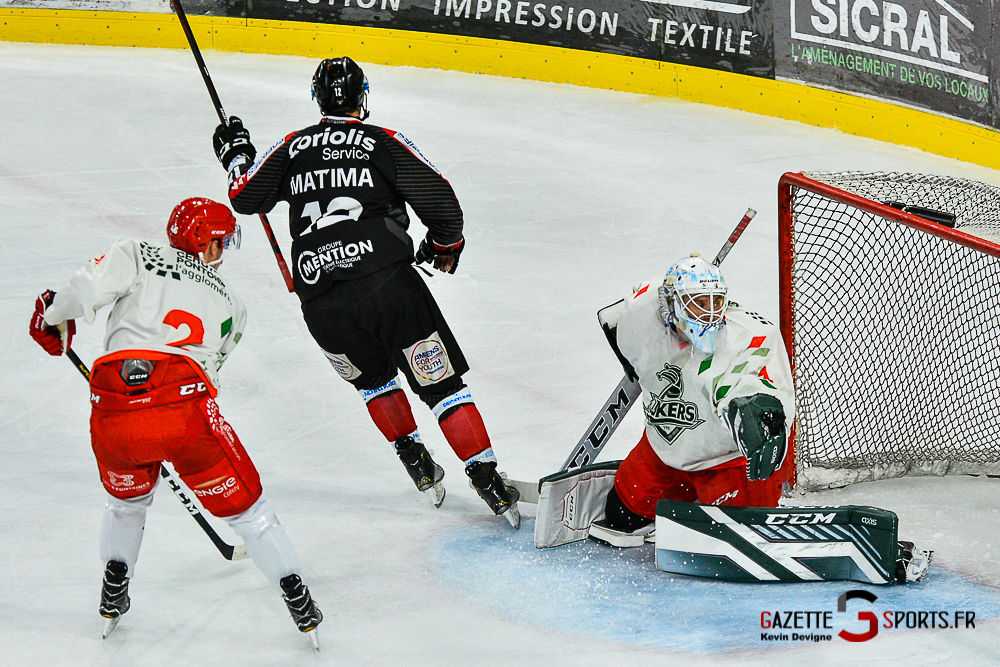 Hockey Sur Glace Amiens Vs Cergy Kevin Devigne Gazettesports 85