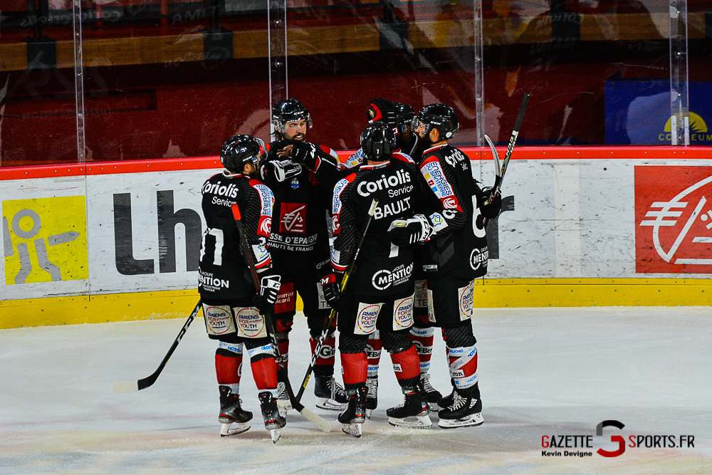 Hockey Sur Glace Amiens Vs Cergy Kevin Devigne Gazettesports 87