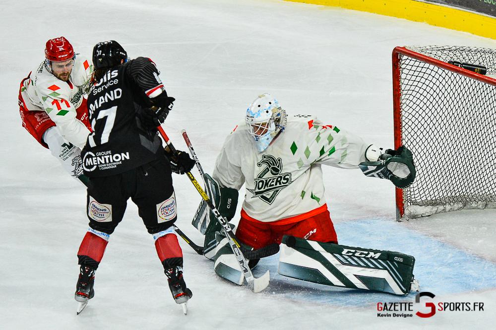 Hockey Sur Glace Amiens Vs Cergy Kevin Devigne Gazettesports 89