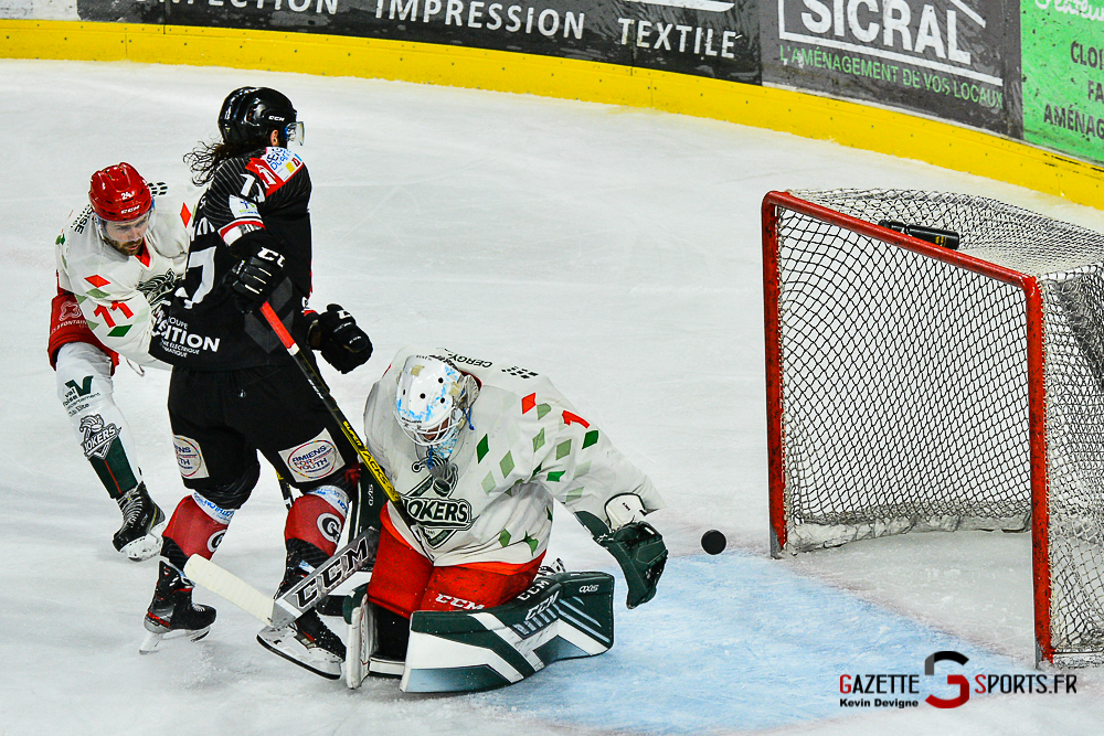 Hockey Sur Glace Amiens Vs Cergy Kevin Devigne Gazettesports 90