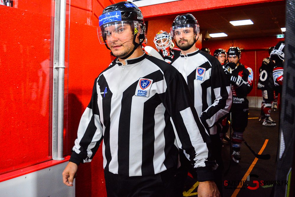 Hockey Sur Glace Amiens Vs Cergy Kevin Devigne Gazettesports 92