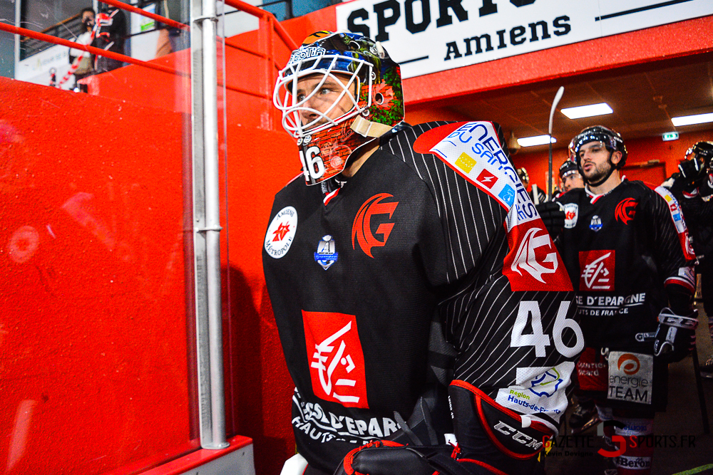 Hockey Sur Glace Amiens Vs Cergy Kevin Devigne Gazettesports 93