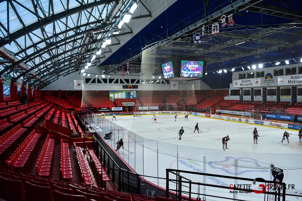 Hockey Sur Glace Amiens Vs Cergy Kevin Devigne Gazettesports