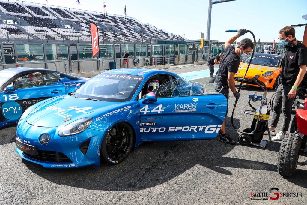 11092020 Alpine Elf Europa Cup Magny Cours Autosport Gp Lilou Wadoux 0060 Leandre Leber Gazettesports