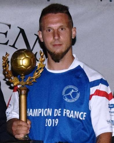 Antoine Bouvet, lauréat 2019, Félize