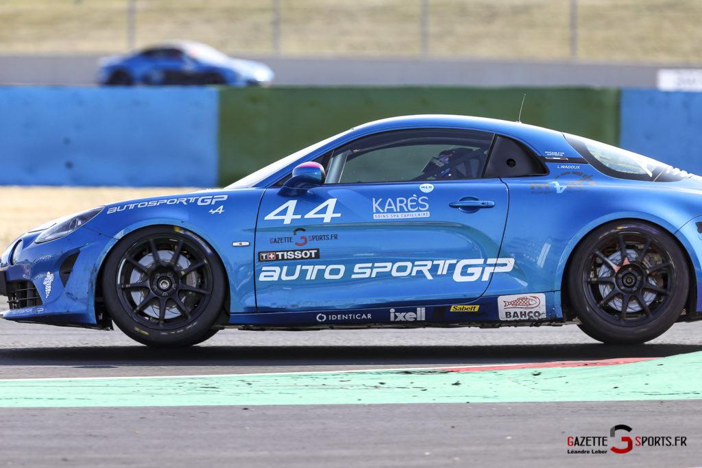 Alpine Elf Europa Cup Circuit Nevers Magny Cours Lilou Wadoux 0063 Leandre Leber Gazettesports