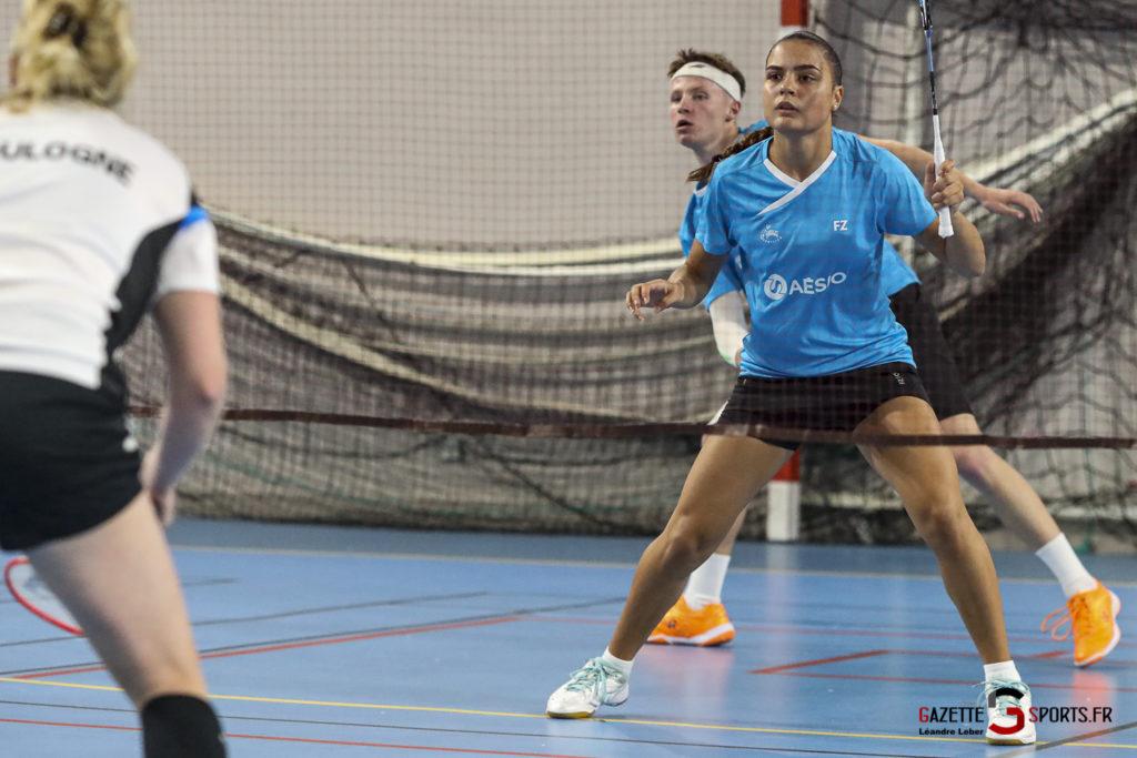 Badminton Auc Amiens Vs Boulogne 0046 Leandre Leber Gazettesports